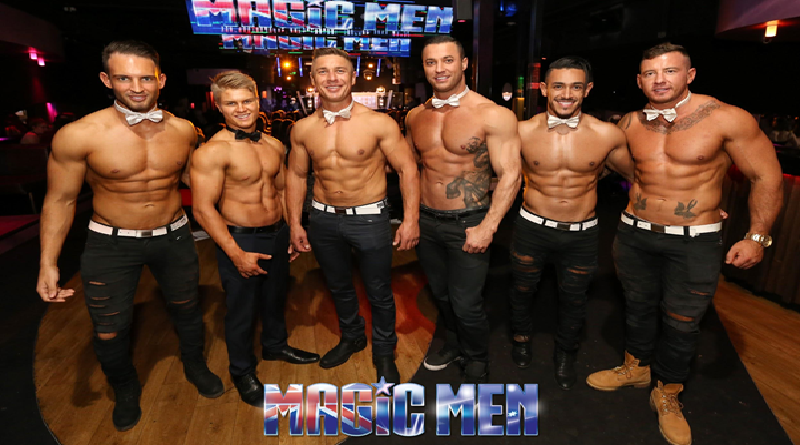 How can topless waiters transform a hen's party to unlimited fun?