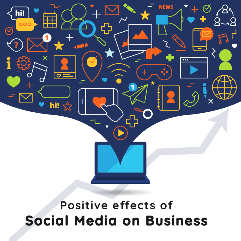 Positive Effects of Social Media