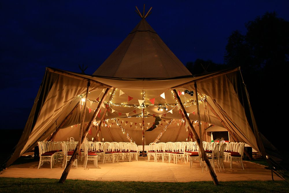 What To Look When Choosing a Giant Tipi For Your Outdoor Event